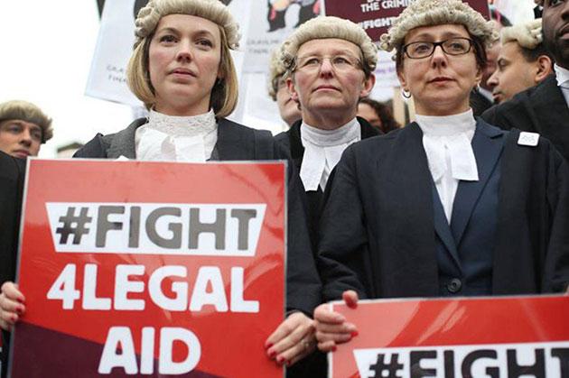 legal aid cut
