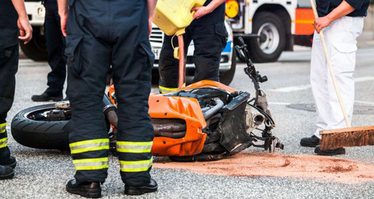 serious injuries caused by a motorcycle accident